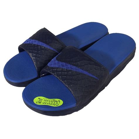 benassi slippers nike benassi solarsoft 2 ii navy blue mens sandals slides