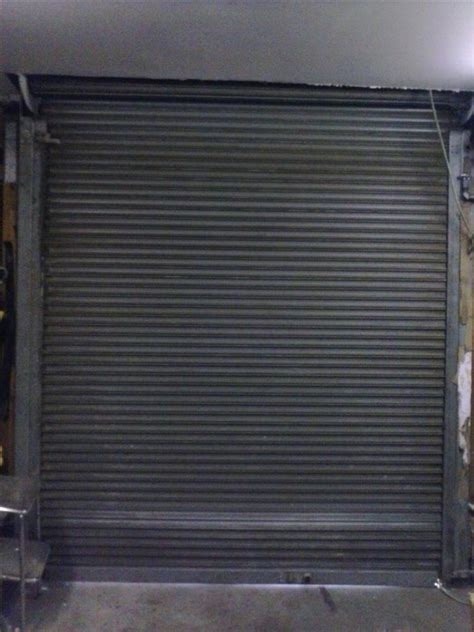 Power Roll Up Shop Or Garag 164802 For Sale Used Power Garage Door