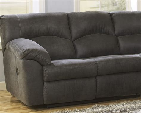 contemporary microfiber sectional sofa furnituremaxx tambo contemporary pewter microfiber