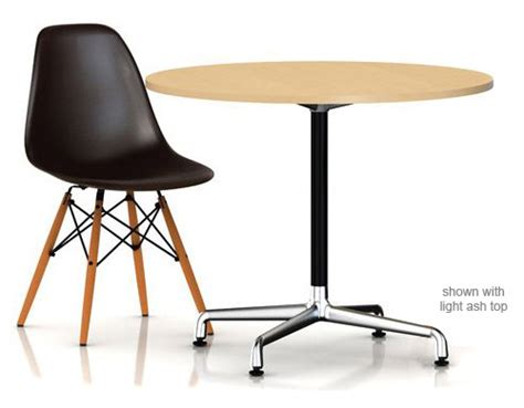 Small Table L Base Eames Small Table With Laminate Top Vinyl Edge