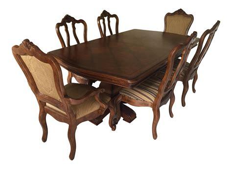 ethan allen esszimmertisch sets ethan allen tuscany dining set set of 7 chairish
