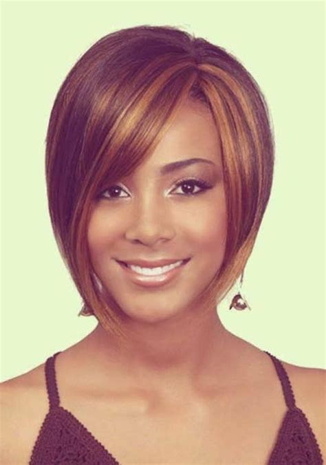 hair weave style for ovale face women 15 collection of short weaves for oval faces