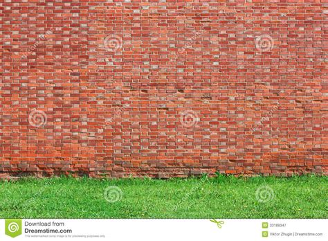 royalty free brick wall pictures images and stock photos brick wall background with grass royalty free stock