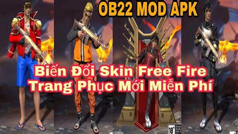 huong  bien doi skin  fire  trang phuc cuc dep