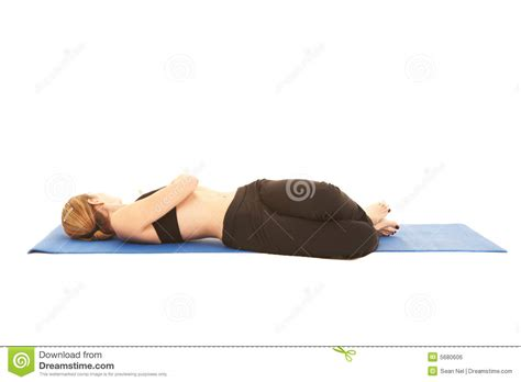 Pilates Mat Series by Pilates Exercise Series Royalty Free Stock Image Image