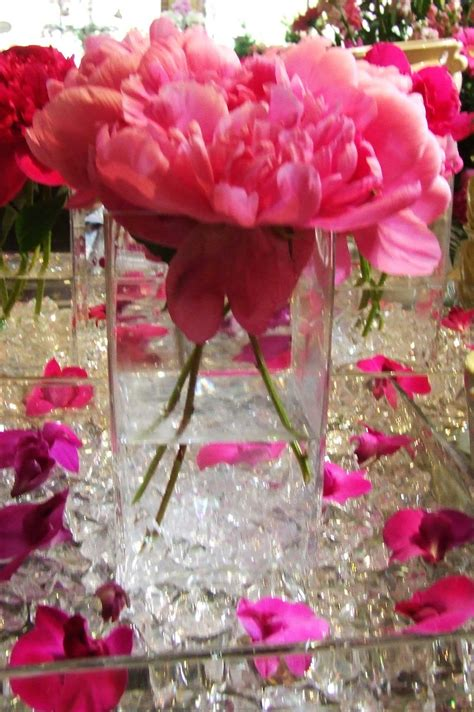 pink wedding flowers for beautiful centerpieces