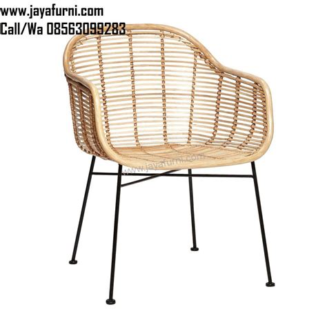 Kursi Cafe Polaris kursi cafe armchair warna rotan jayafurni mebel