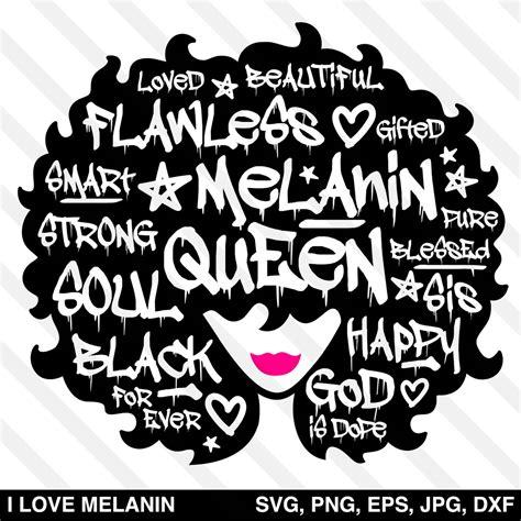 graffiti black queen afro woman svg  love melanin