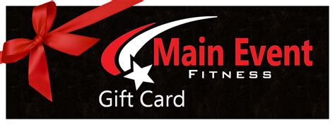 Main Event Gift Card - main event fitness geelong mothers day main event fitness