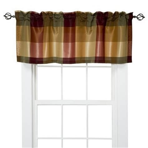 Gold Plaid Curtains Target Home Plaid Valance 54x18 Quot I Jan For Posting These For My Kitchen