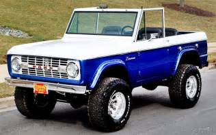 Ford Branco The Past And Future Era Of Ford Bronco Ebay Motors