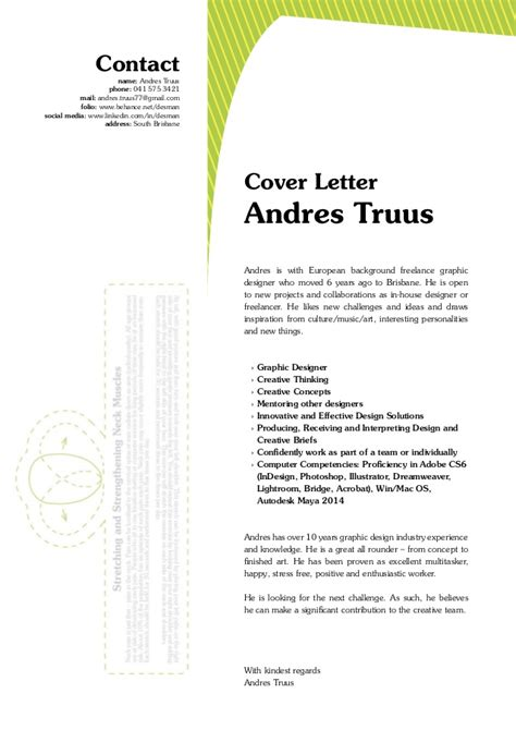 Home Design Show Brisbane andres truus graphic designer letter resume 2014