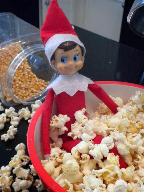 Shelf Of Popcorn by On The Shelf Ideas