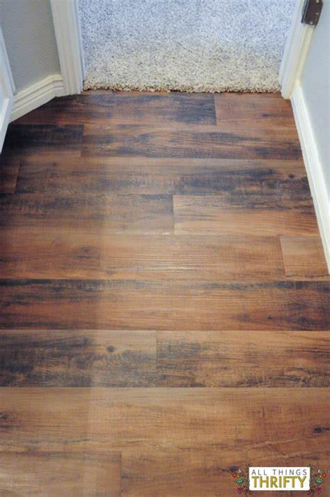 Peel And Stick Vinyl Flooring by How To Easily Install Peel And Stick Vinyl