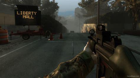 killing floor mp5m medic gun left 4 dead 2 gamemaps