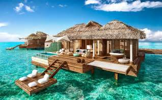 overwater bungalows sandals royal caribbean resort montego bay jamaica