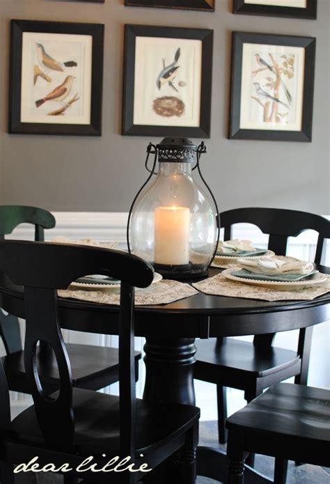 kitchen tables black 1000 ideas about kitchen table centerpieces on