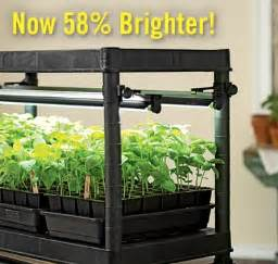 Gardeners Supply Stack And Grow Grow Lights And Stands For House Plants And Seeds