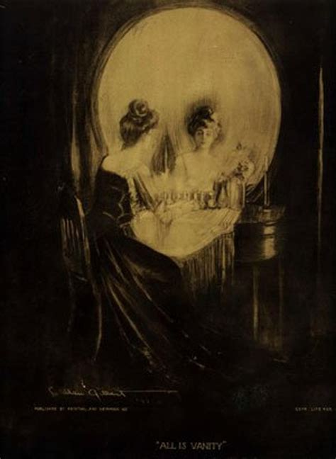 C Allan Gilbert All Is Vanity by Radio 1 Slika Iz Leta 1892 Bo O Tebi Razkrila Marsikaj