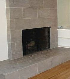 covering brick fireplace with ceramic tile how to cover a fireplace using sheet rock for the home