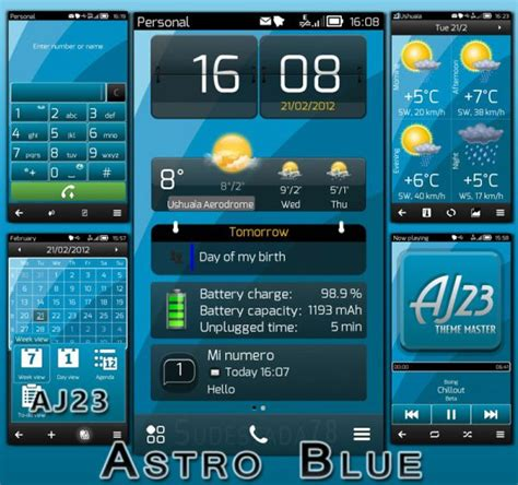 out of focus a theme for symbian belle apk mania astro blue by aj23 nokioteca nokia blog