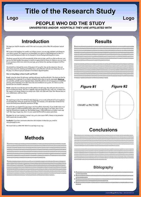 6 Case Report Poster Presentation Template Progress Report Report Poster Template
