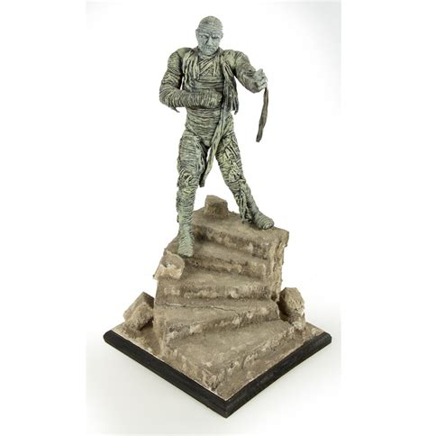 billiken kits the mummy vinyl model kit by billiken pro buildup