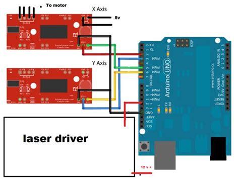 laser diode arduino schematic diy arduino laser engraver 4