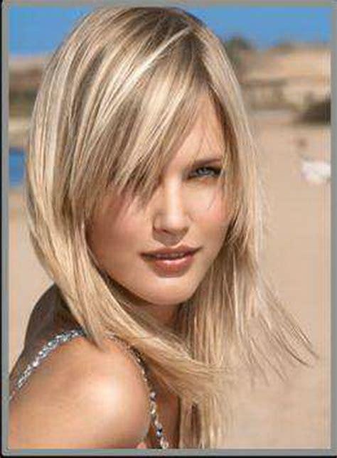 coupe de cheveux mi blond