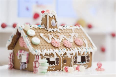 assemble  gingerbread house  scratch