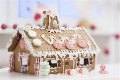 assemble gingerbread house scratch