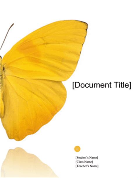 ms office free templates report butterfly design reports form templates