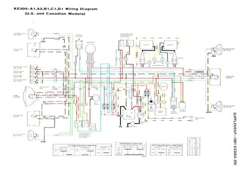 82 kz305 wiring diagram kzrider forum kzrider kz z1