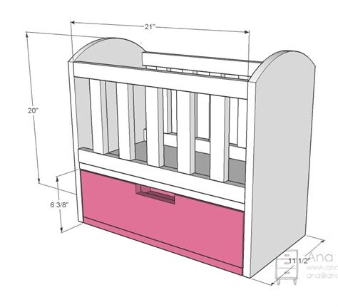 Dimensions Of A Baby Crib Diy Baby Cradle Plans Dimensions Plans Free