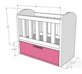 Baby Crib Design Plans by Crib Drawing Easy Baby Crib Design Inspiration