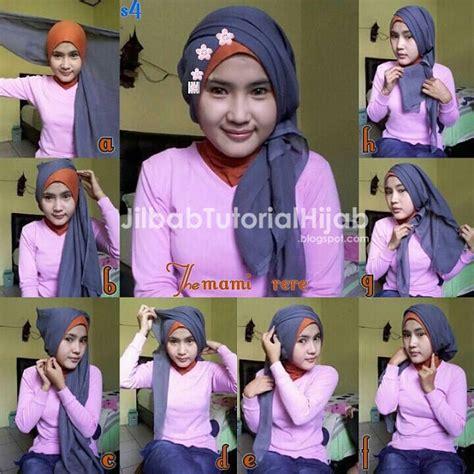 tutorial jilbab pesta silang tutorial hijab segi empat untuk pesta jilbab tutorial hijab