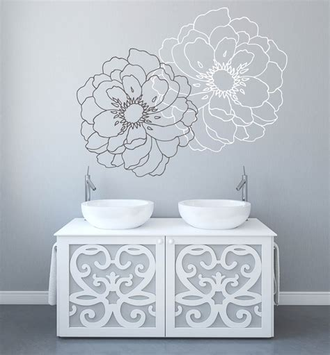 stickers for walls modern flower wall decals for walls stickers for walls