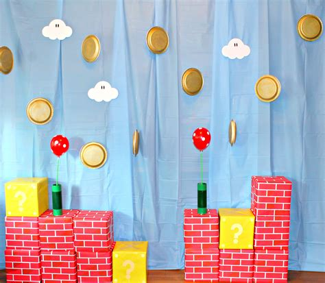 printable mario party decorations how to plan a super mario brothers party borealis