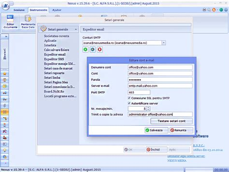 email yahoo romania configurare cont mail gmail yahoo trimitere rapoarte