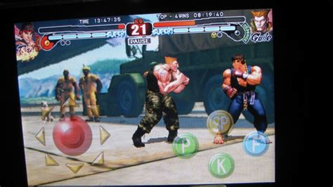 Fighting Looks Still by Fighter Iv As As You Can Expect On The Iphone