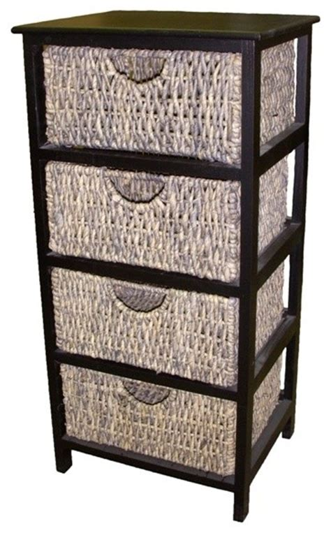 wall shelves with baskets compact 4 drawer wicker basket storage shelf contemporary display and wall shelves by