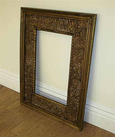3ft X 4ft Frame by Antique Style Carved Ornate Vintage Shabby Chic Gilt Wood