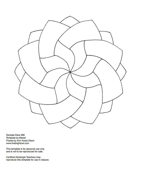 color pattern templates 17 best images about zentangle fill ins on pinterest