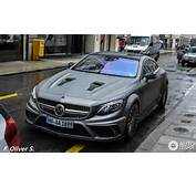 Mercedes Benz Mansory S 63 AMG Coup&233  2 January 2016