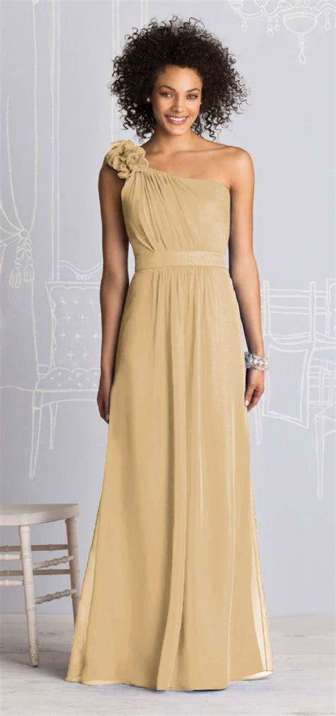 Jewel Tones Colors Champagne Gold Bridesmaid Dresses 2016 2017 B2b Fashion