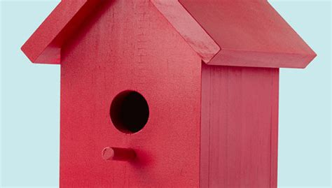 lowes craft easy one board bird house plans