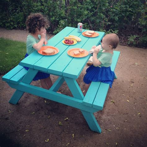 children s picnic bench wooden picnic tables for kids plans to make a wooden