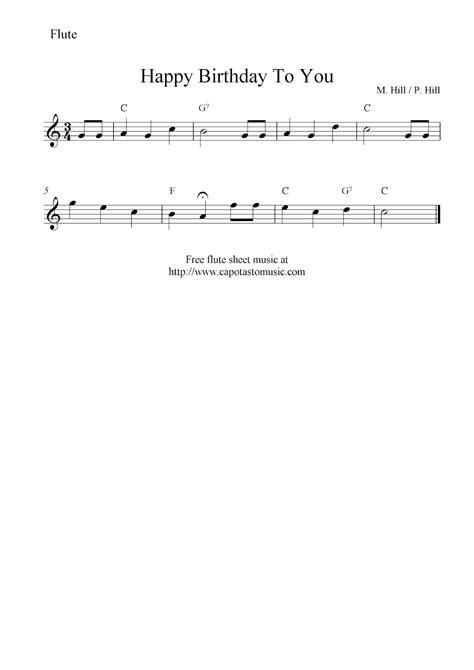 house music happy birthday happy birthday flute sheet music my blog