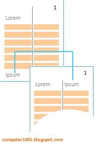 teks layout adalah cara membuat teks koran pada microsoft word
