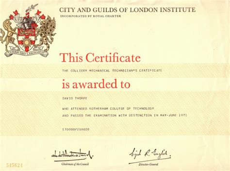 city and guilds certificate template city and guilds certificate template gallery